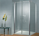 Saloon Door Enclosures