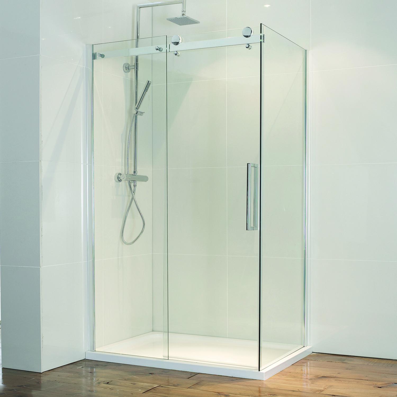 Aquaglass 8mm Frameless Sliding Door Frontlinebathrooms Com