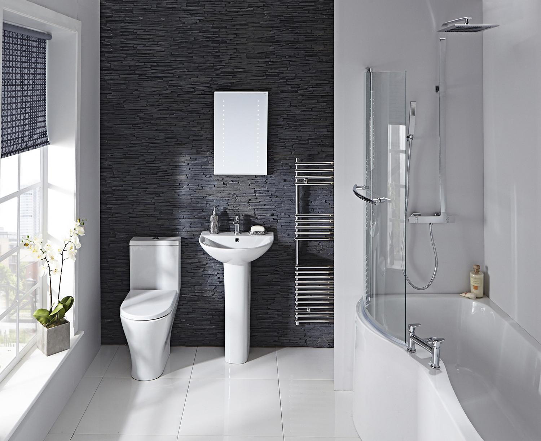 Compact Shower Bath Left Hand Frontlinebathrooms Com