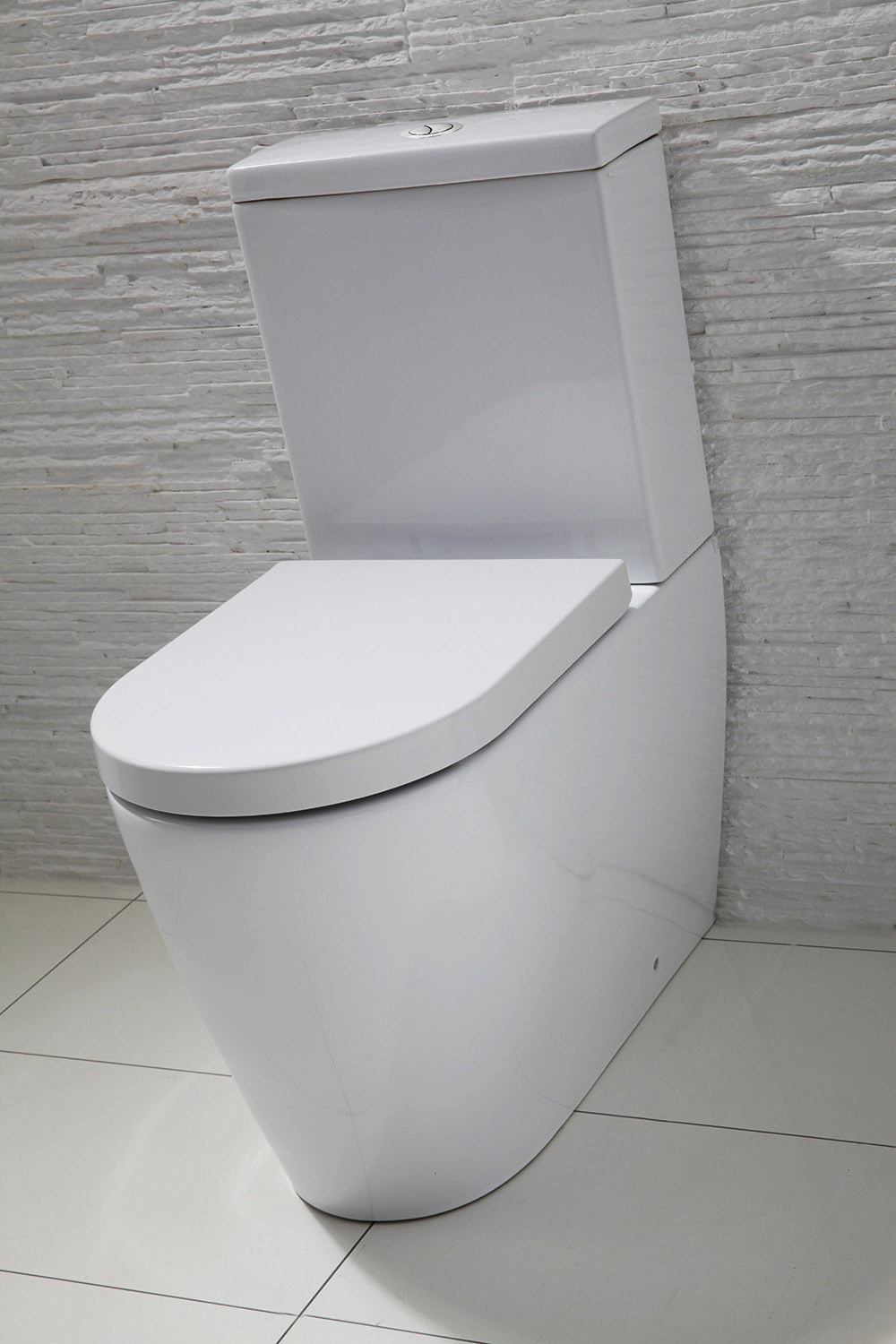 Emme Flush To Wall Toilet With Soft Close Seat
