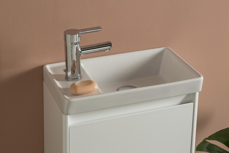 Enjoy 450mm Wall Hung Cloakroom Vanity Unit Amp Mirror Set