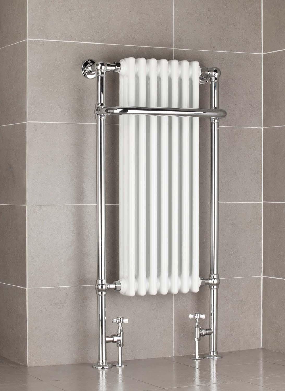Victorian 1130 X 553mm Traditional Towel Rail