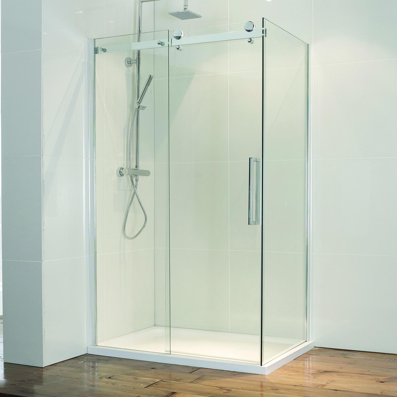 Aquaglass+ 8mm Frameless Side Panel