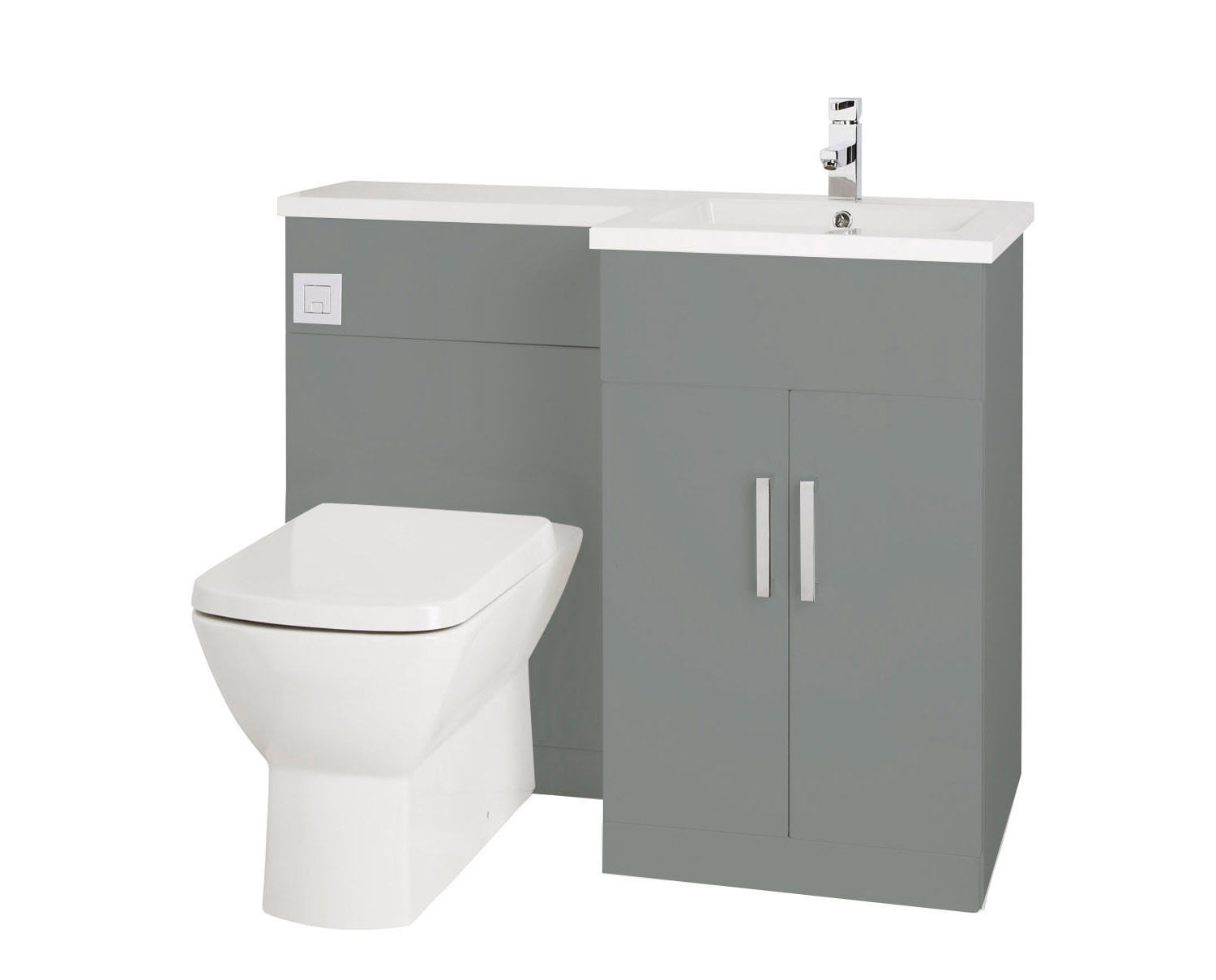 Pleasing Aquatrend Petite Right Hand Back To Wall Basin And Toilet Pdpeps Interior Chair Design Pdpepsorg