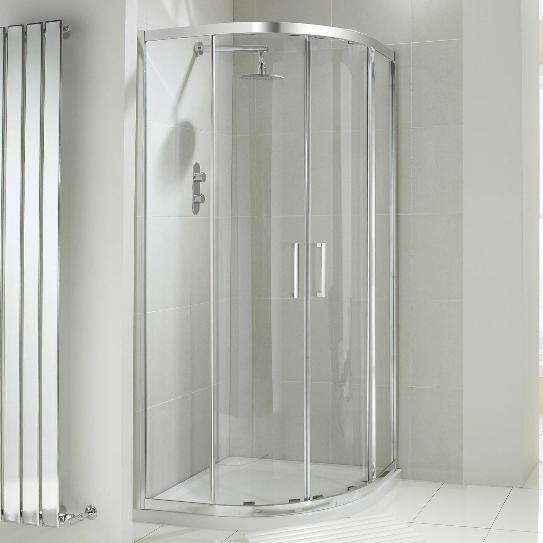 Aquaglass+ Drift 8mm Quadrant Enclosure
