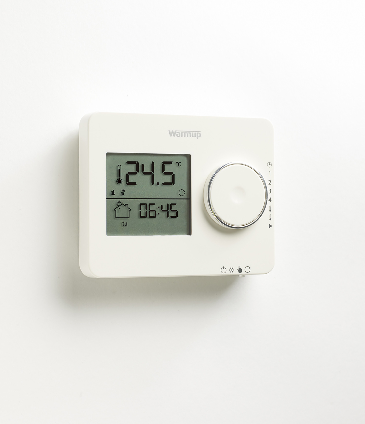 Tempo Digital Programmable Thermostat - Black