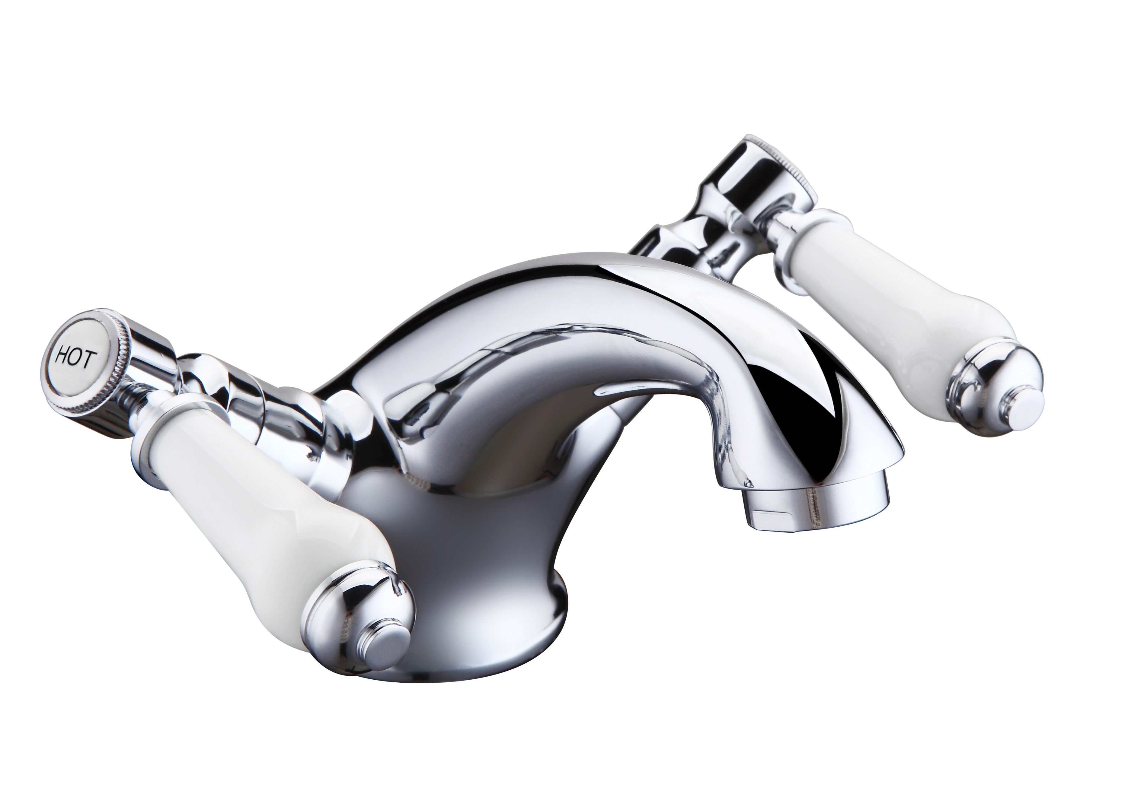 Holborn Lever Basin Mixer with Sprung Waste