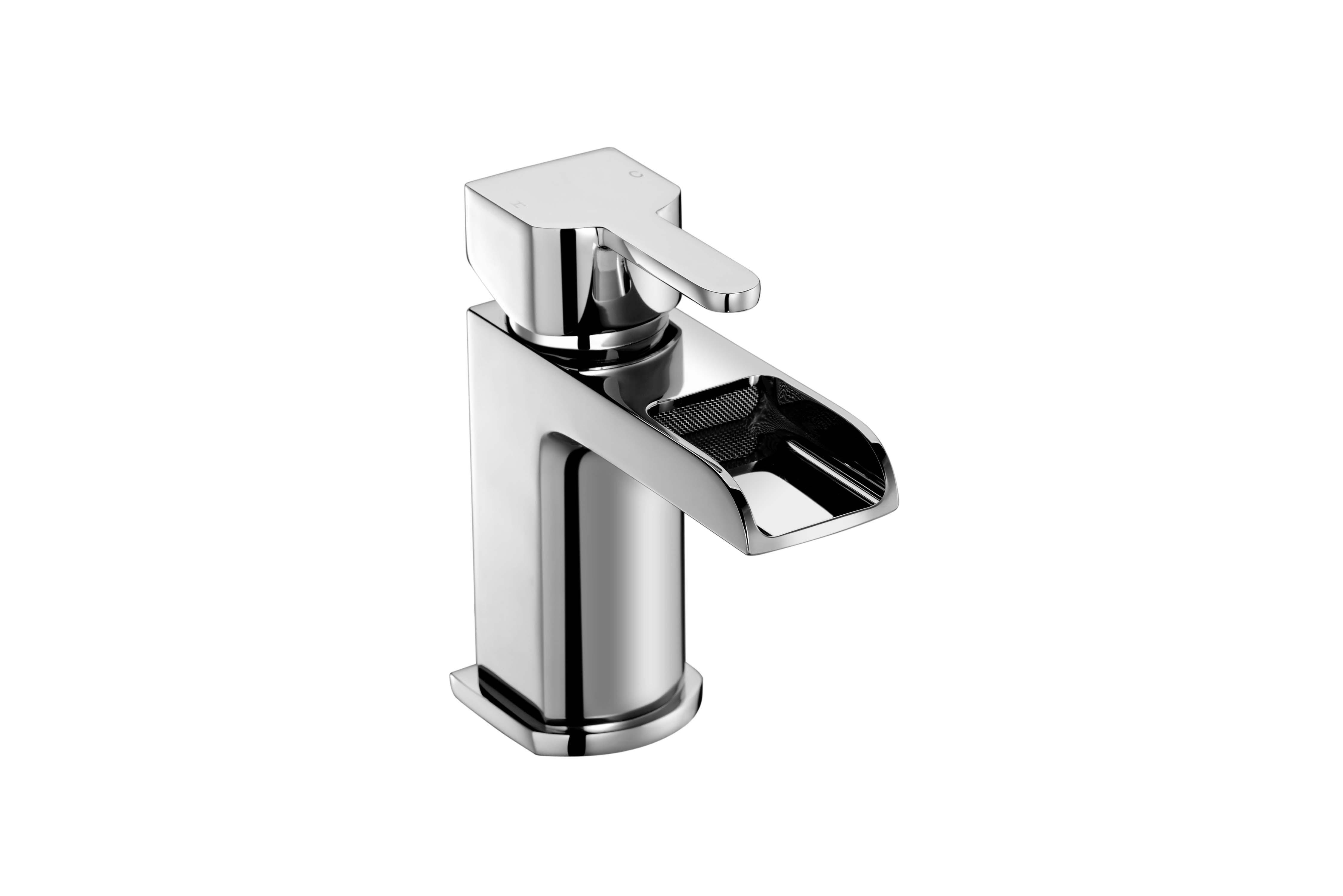 Modo Waterfall Basin Mixer with Sprung Waste