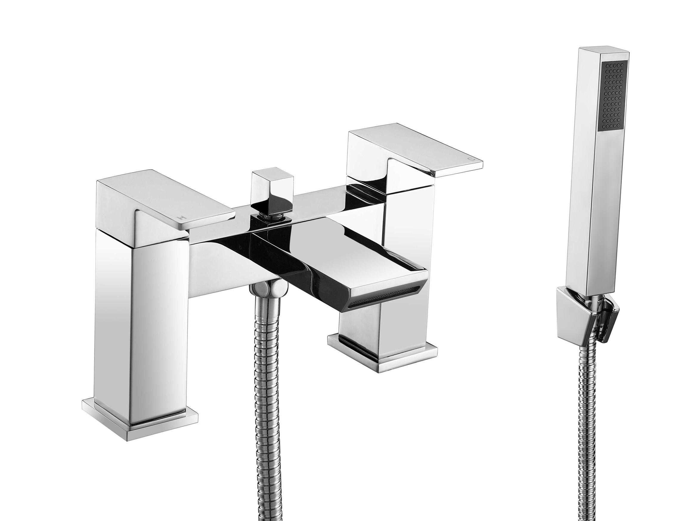 Sleek Waterfall Bath Shower Mixer