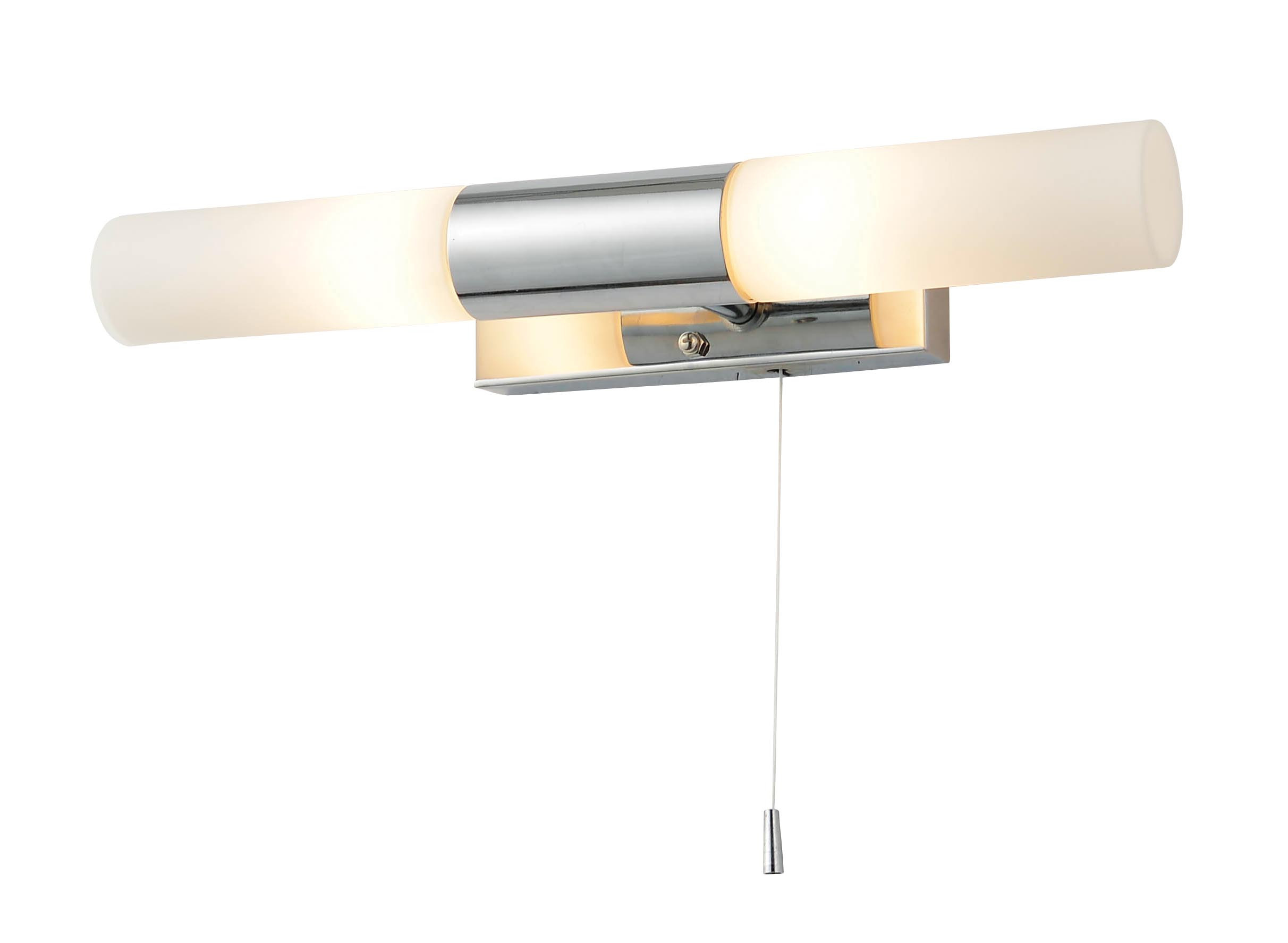 Beam Wall Light with Pull Cord