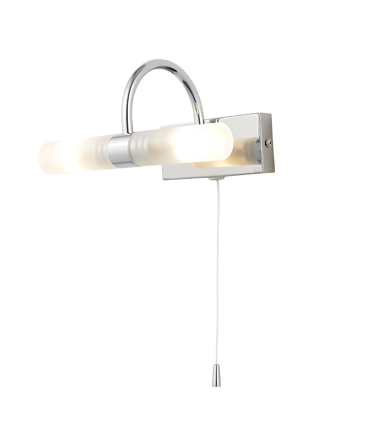 Curve Wall Light with Pull Cord