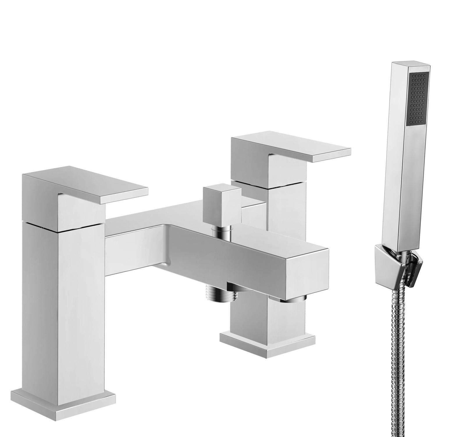 Cube Bath Shower Mixer