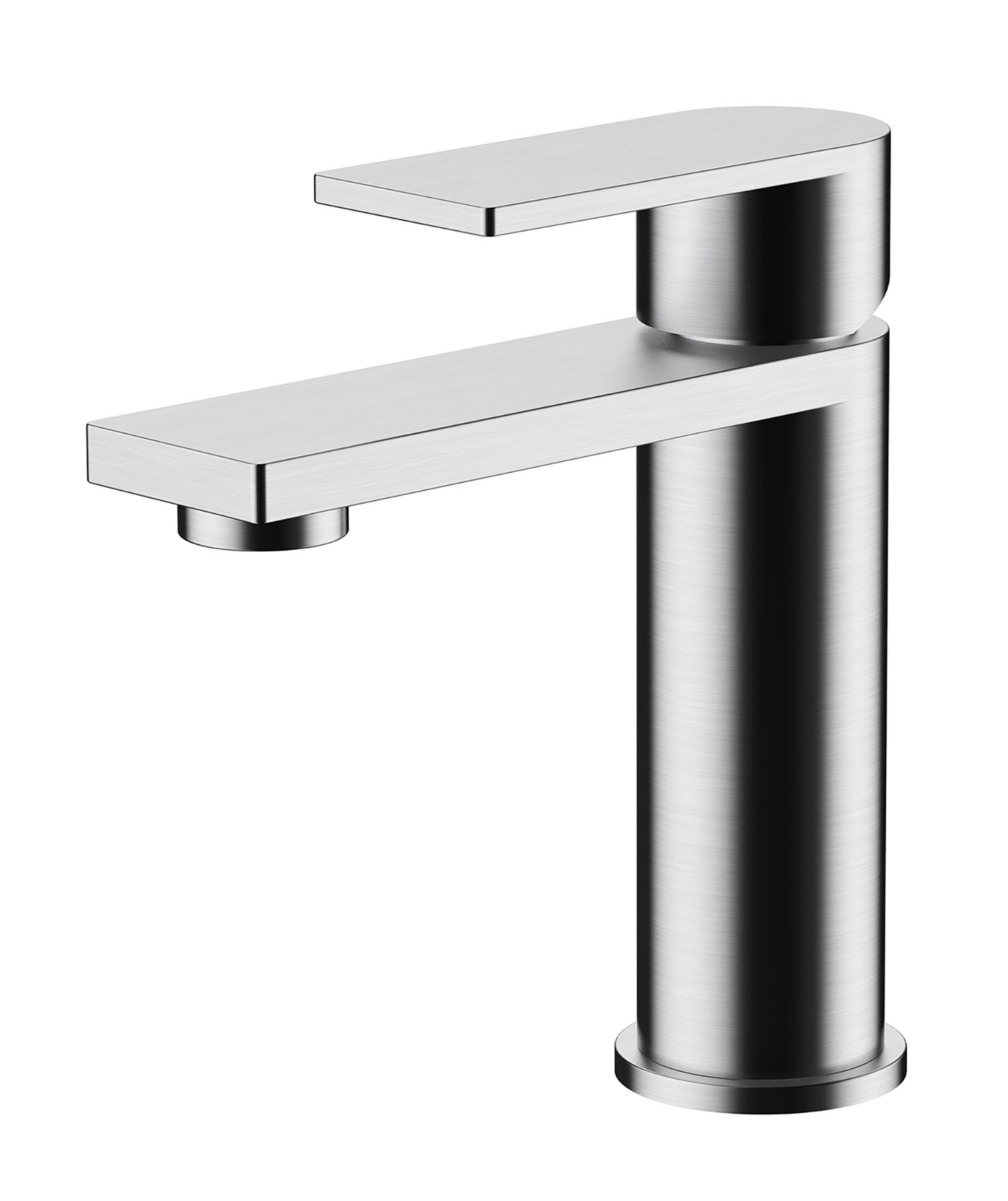 Strand Basin Mixer with Sprung Waste
