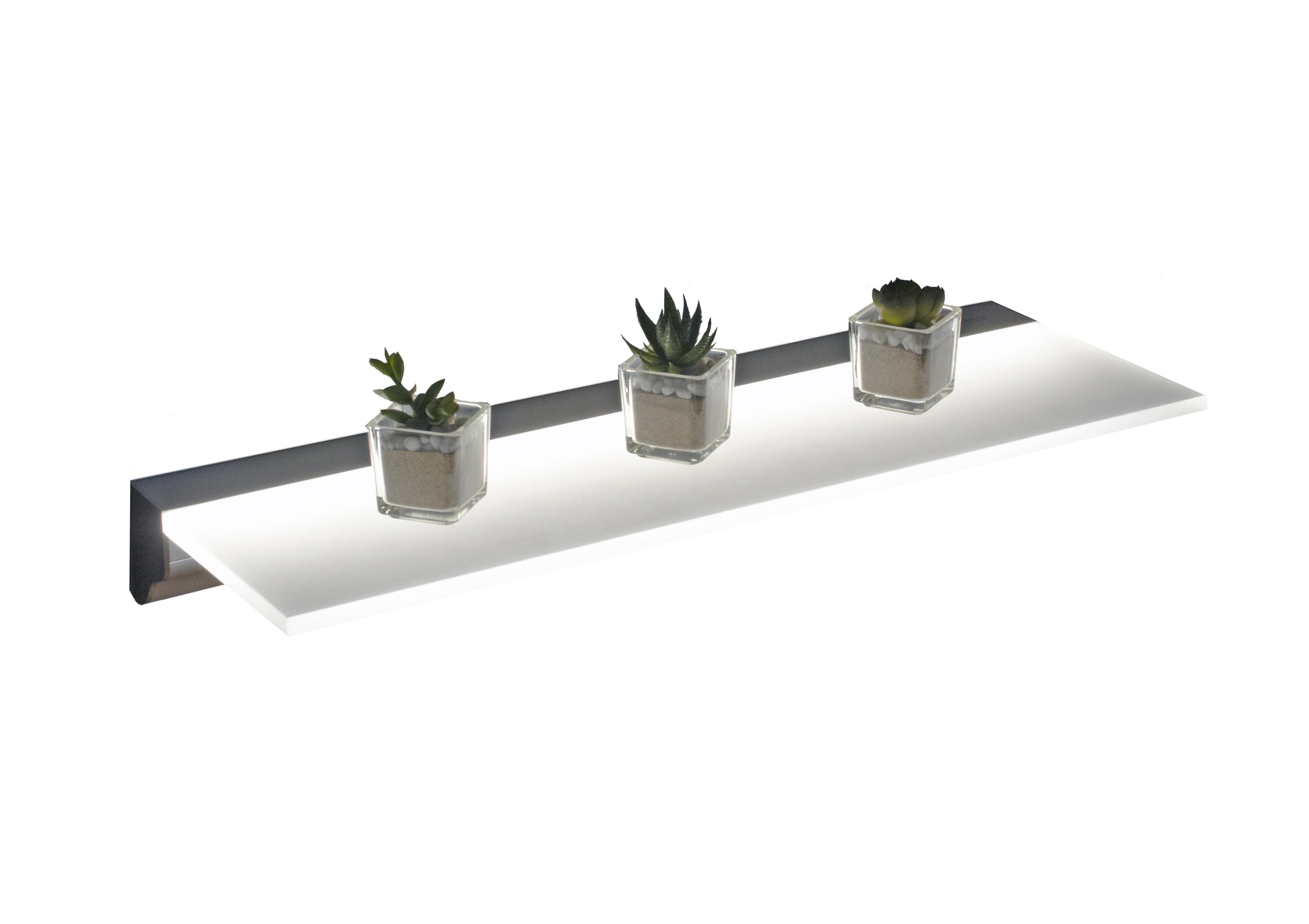 Illuminated LED Floating Shelf