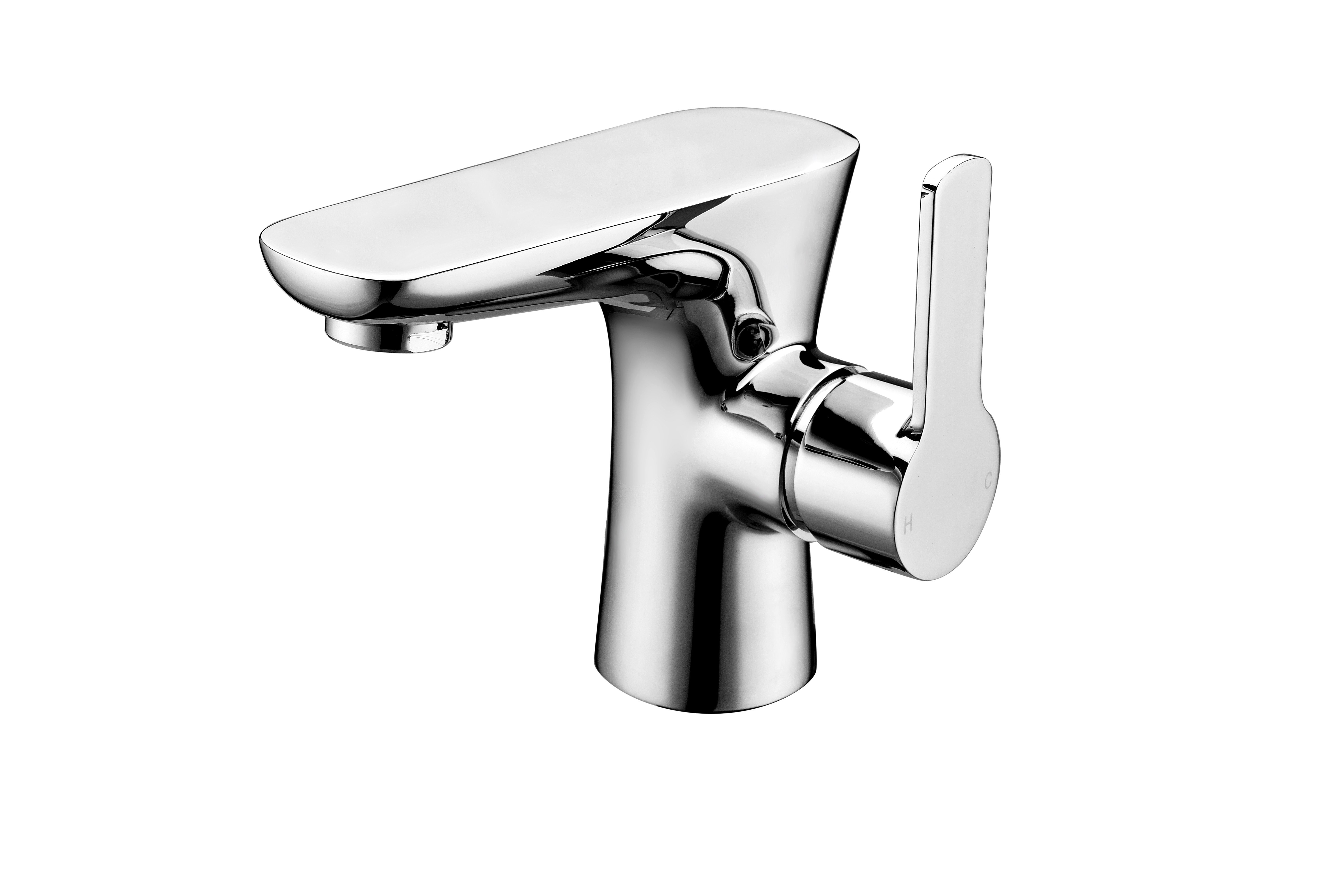 Garda Basin Mixer with Sprung Waste