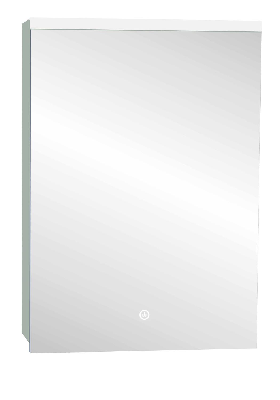 Paris Mirrored LED Cabinet with Touch Sensor & Shaving Socoket