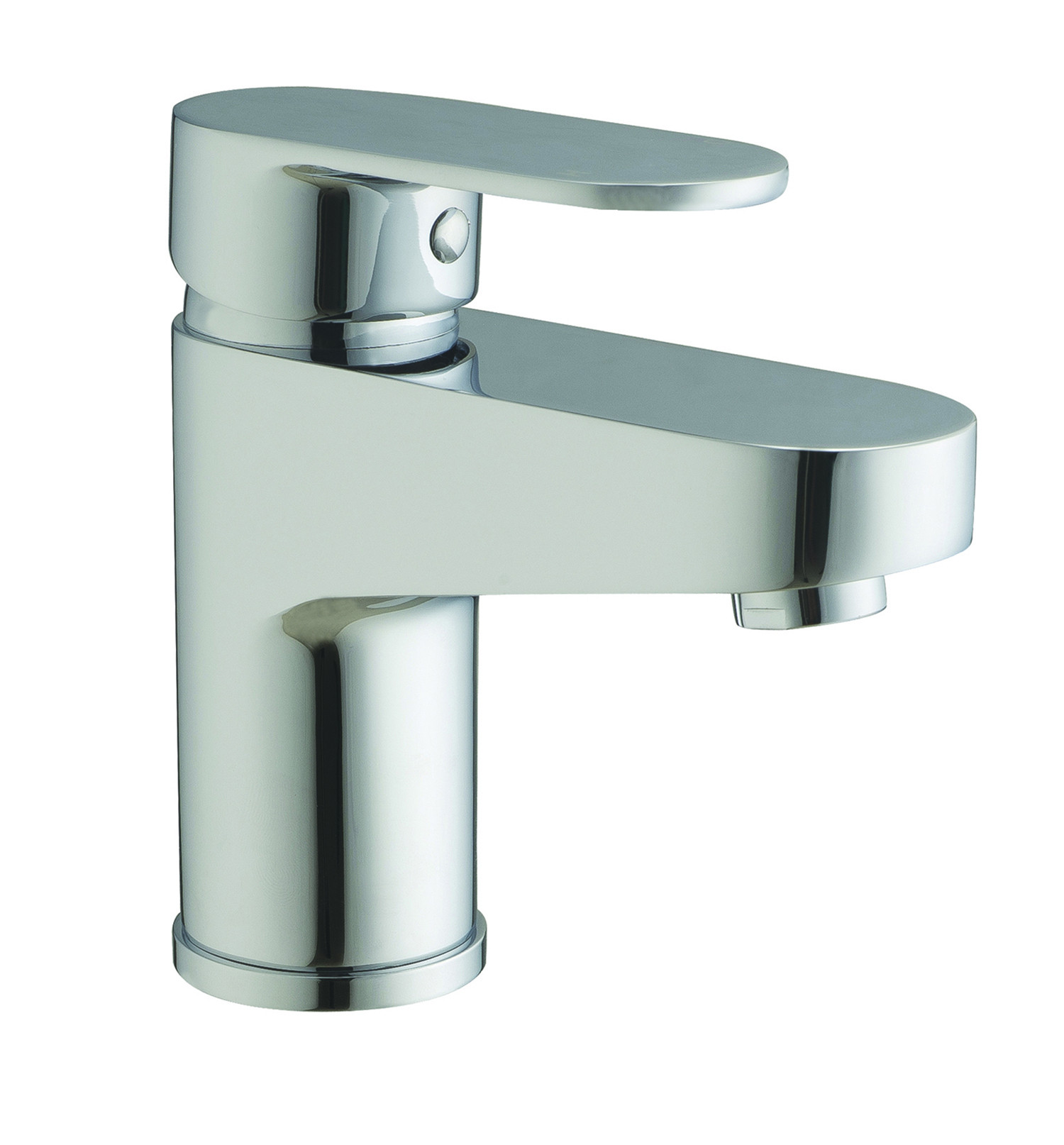 Sphere Basin Mixer with Sprung Waste