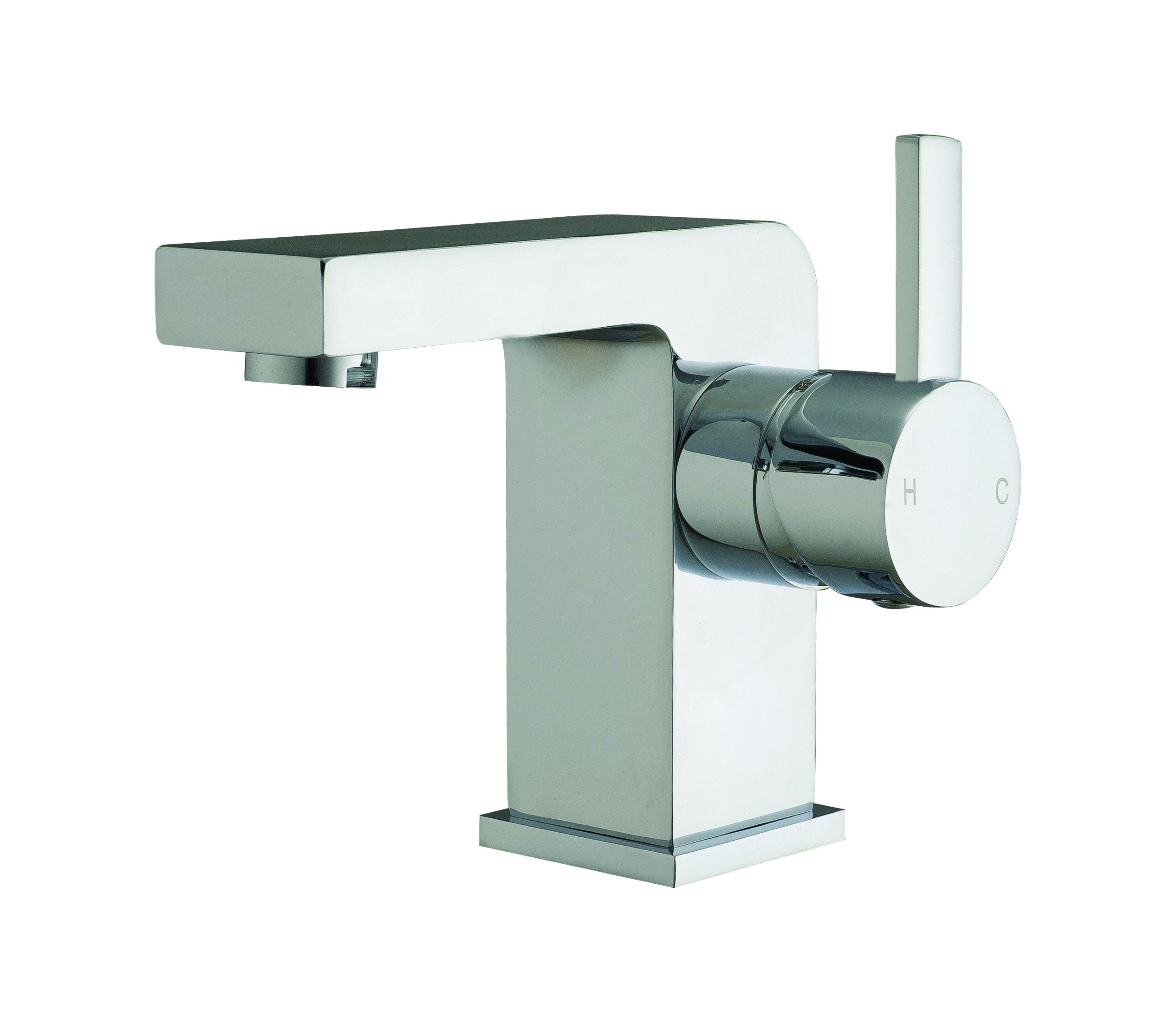 Pano Basin Mixer with Sprung Waste