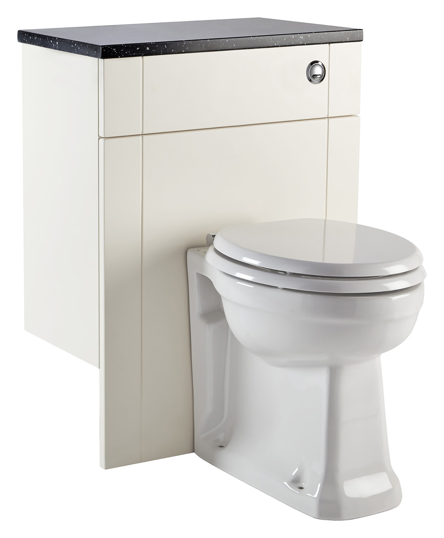 Holborn Fitted Back-To-Wall Toilet Unit - Crema