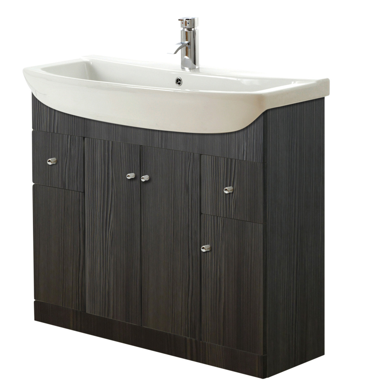 Aquapure 1050mm Vanity Unit - Avola Grey
