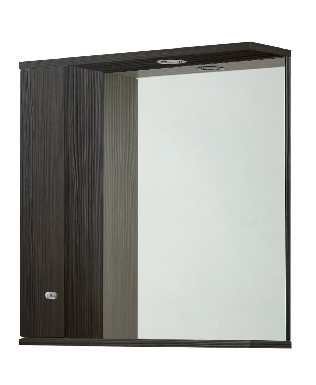Aquapure 750mm Illuminated Mirrored Cabinet - Avola Grey
