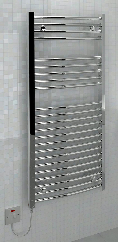 Ellipse 1100 x 500mm Electric Towel Rail