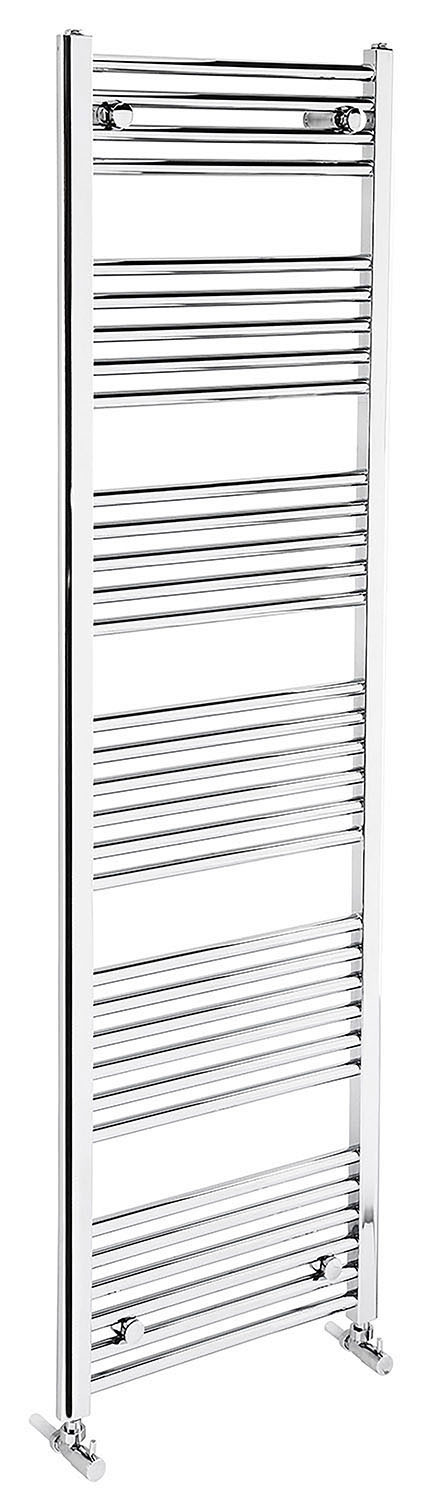 Flat 1700mm Heated Towel Rail - Chrome