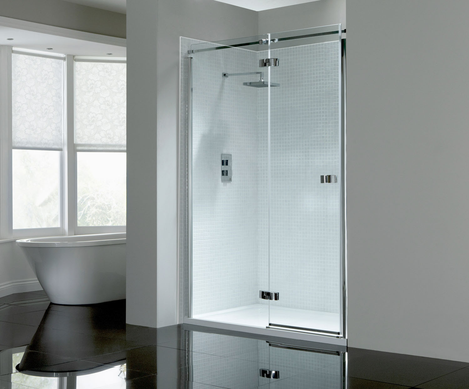 Prestige² 8mm Frameless Hinged Door - Left-Hand | FrontlineBathrooms.com