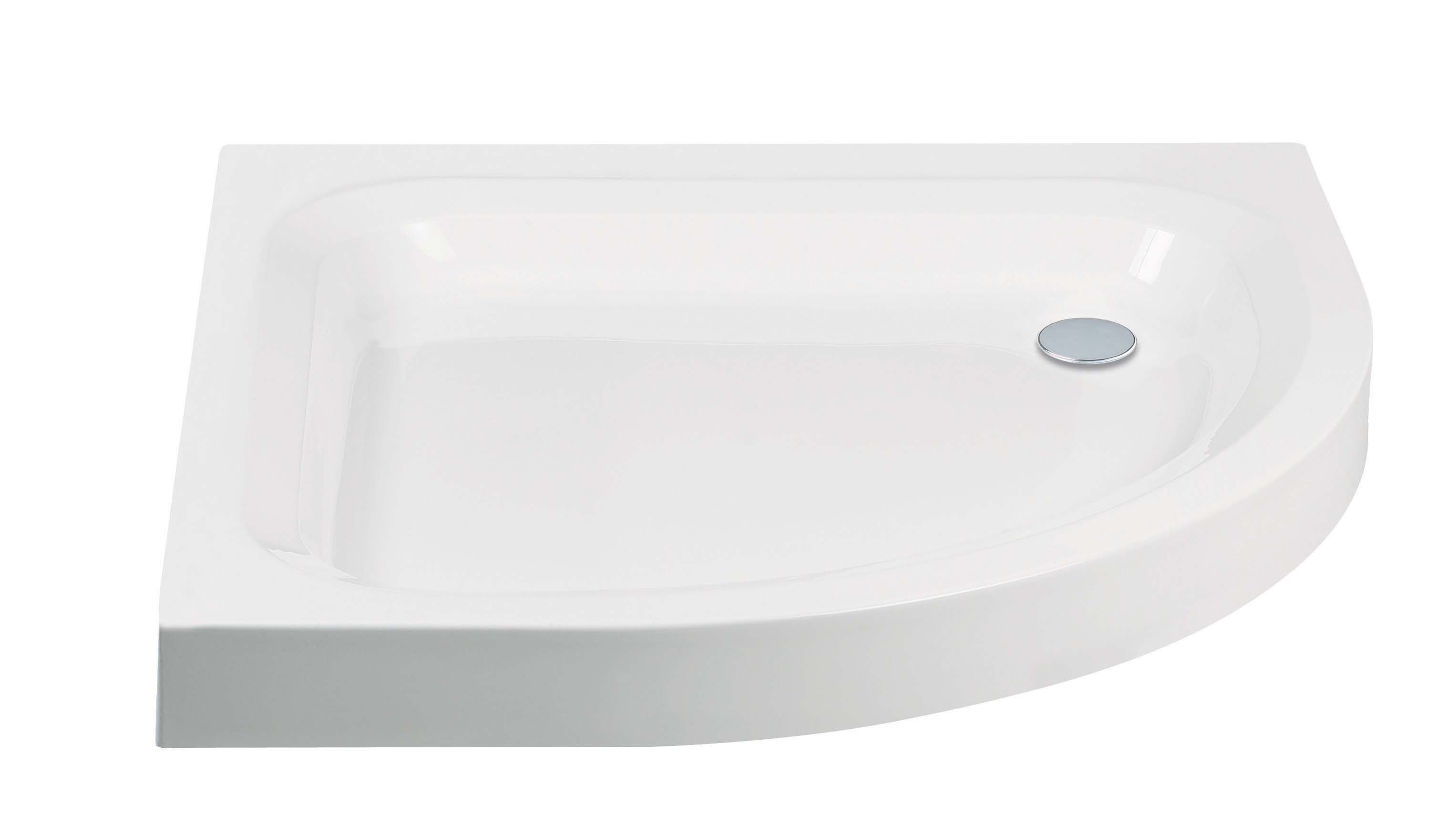 Standard Quadrant Shower Tray with Anti-Slip Option