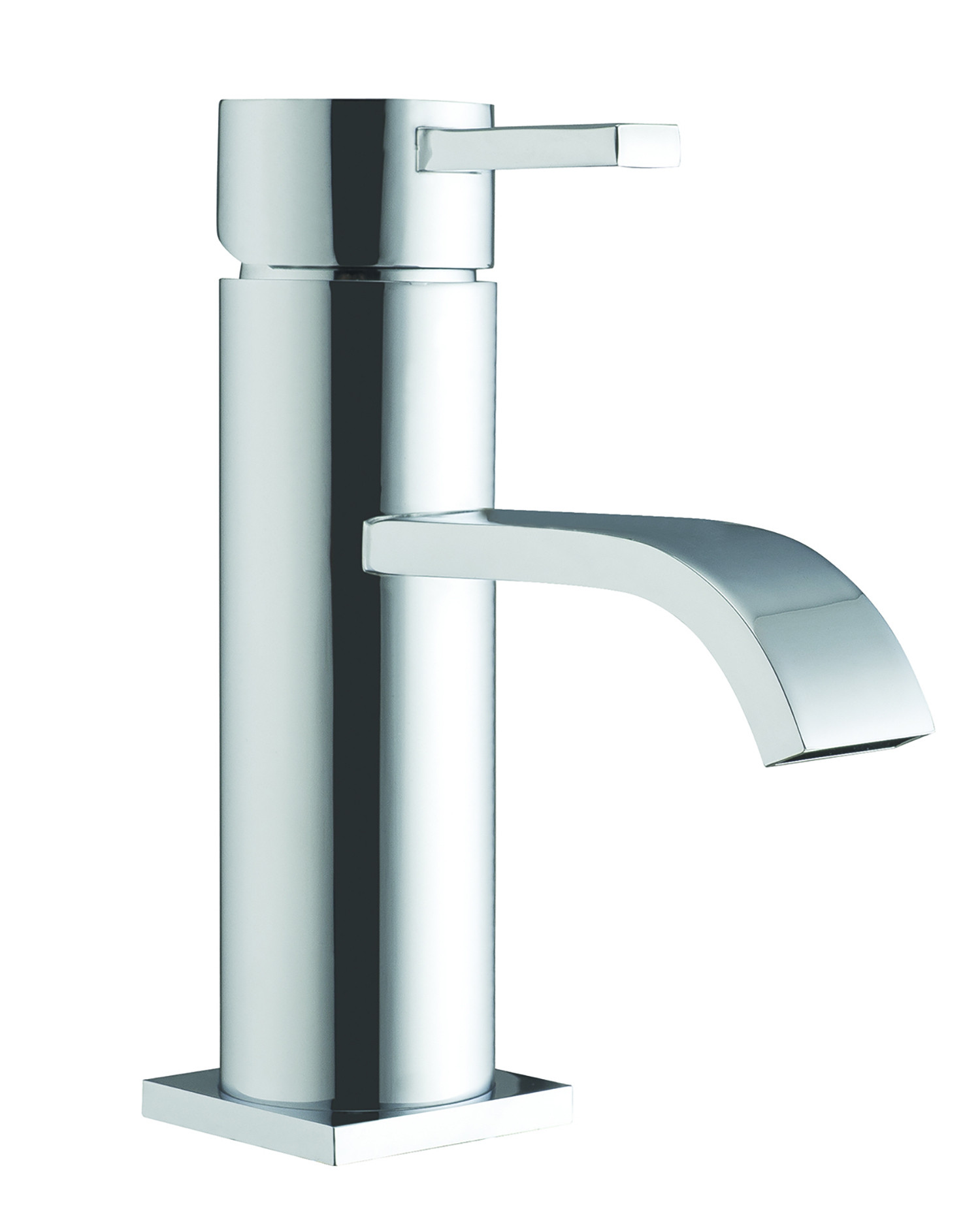Gemini Basin Mixer with Sprung Waste