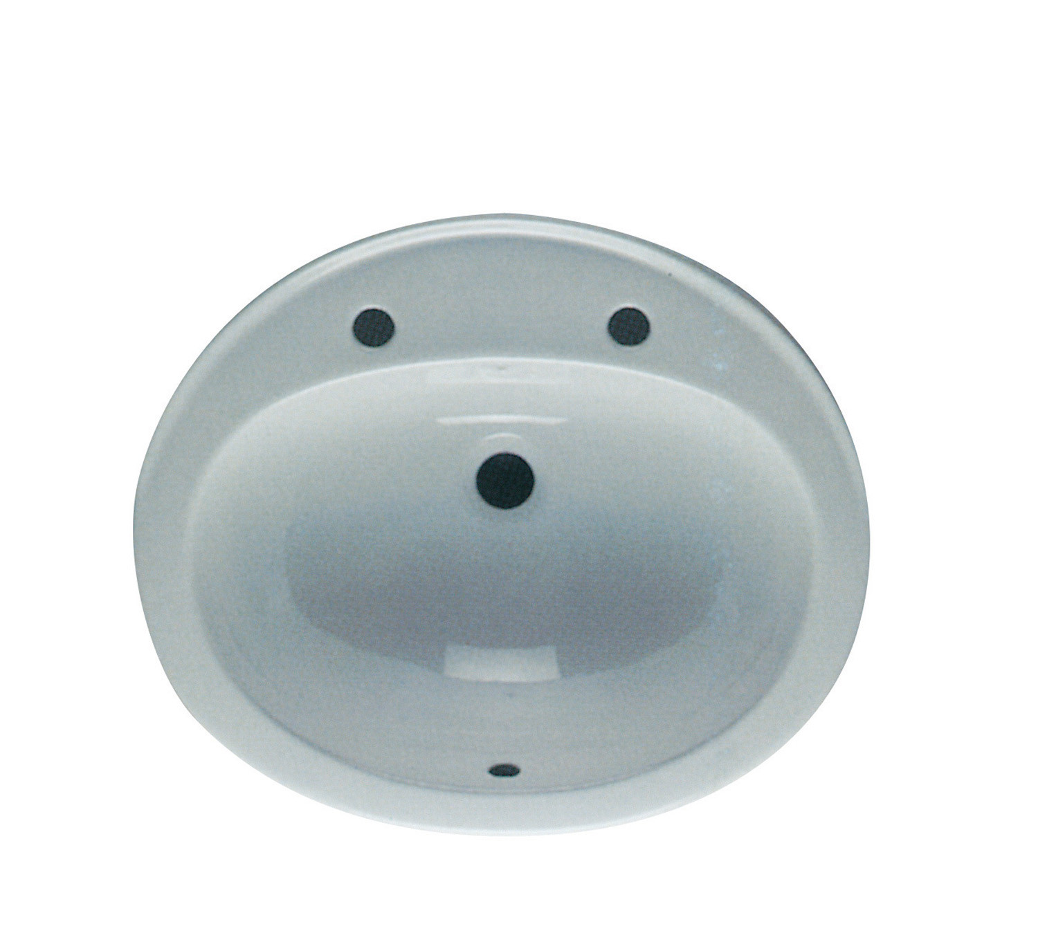 Jessica 530mm Over-the-Counter Basin - 2 Tap Holes