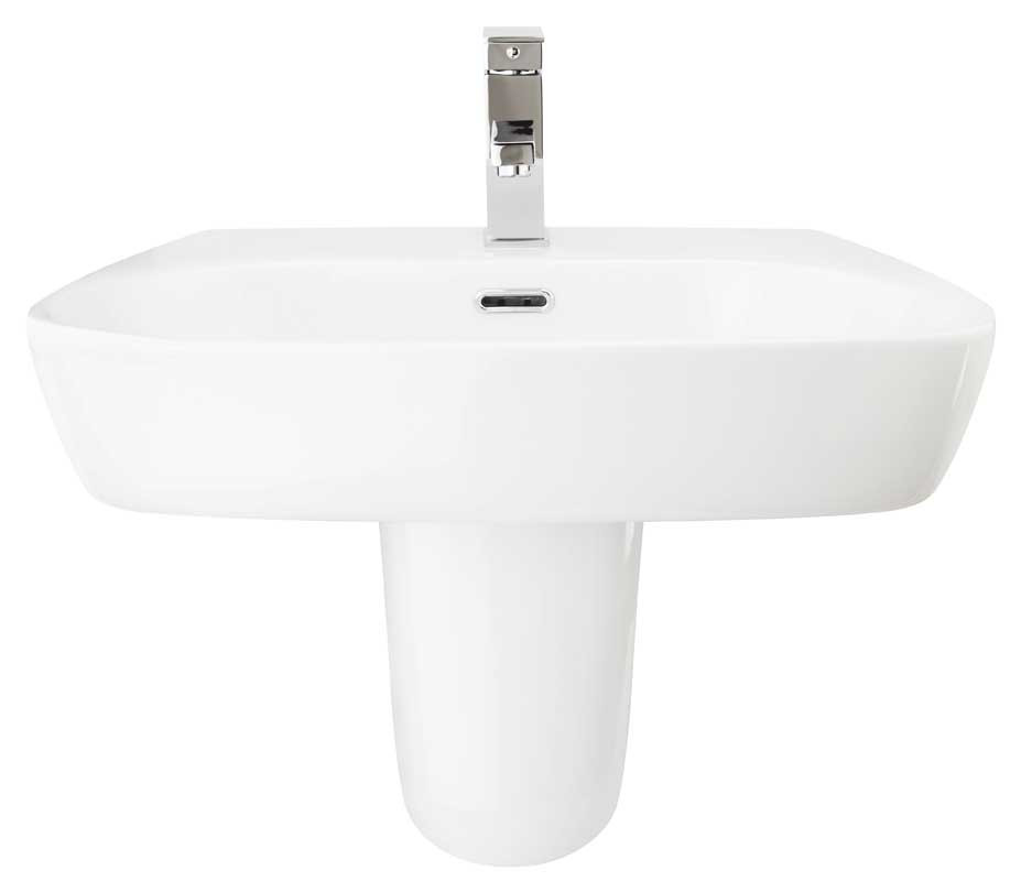 Medici 600mm Semi-Pedestal Basin