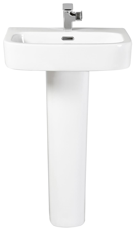 Modo 550mm Full Pedestal Basin