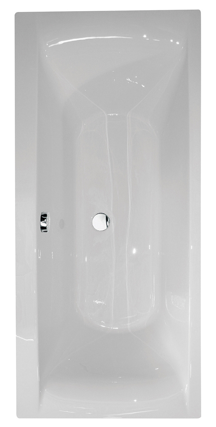 Oporto Square Double-Ended Straight Bath