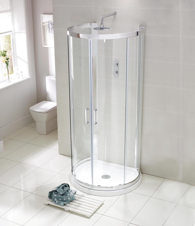 Aquaglass Purity 6mm D-Shaped Quadrant Enclosure