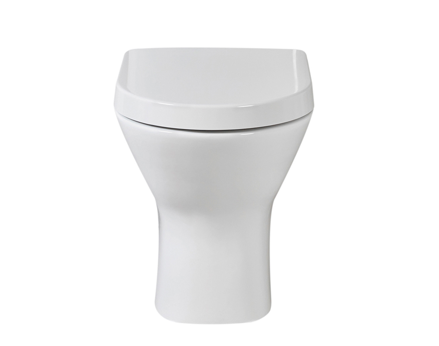 Resort Back-to-Wall Toilet with Soft-Close Seat | FrontlineBathrooms.com