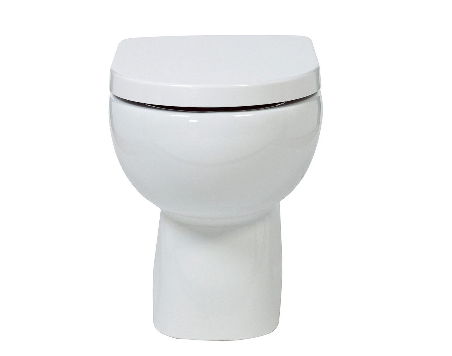 Tonique Back-to-Wall Toilet with Soft-Close Seat