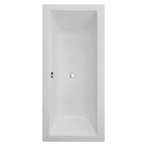 Carrera Square Double-Ended Straight Bath