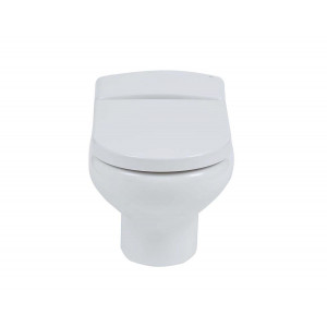 Compact Wall-Hung Toilet