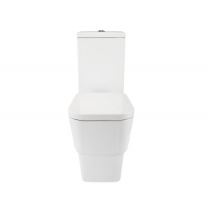 Cubix Flush-to-Wall Toilet with Soft-Close Seat