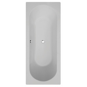 Duo Round Double-Ended Straight Bath