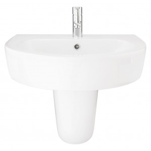 Emme 560mm Semi-Pedestal Basin