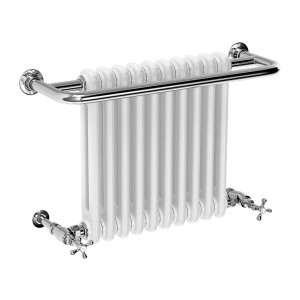 Edwardian 491 x 741mm Traditional Towel Rail