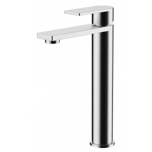 Strand Tall Basin Mixer with Sprung Waste