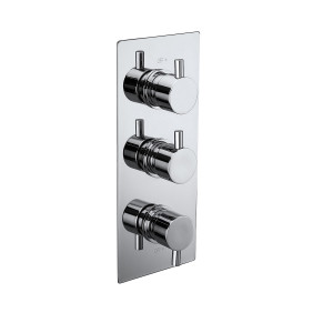 Pure Triple Concealed Thermostatic Shower Valve