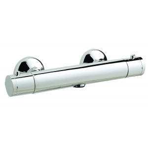 Minimalist Exposed Thermostatic Shower Bar Valve