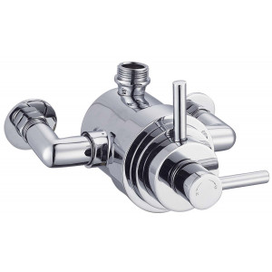 Modern Exposed Thermostatic Shower Valve