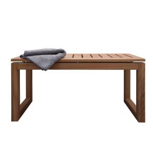 900mm Solid Oak Bench