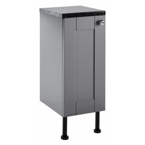 Aquamode 300mm Fitted Bathroom Cupboard - Dust Grey