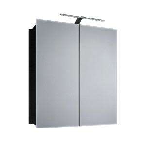 Howden 600mm Double Mirrored Cabinet